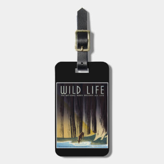 Preserve All Life Luggage Tag