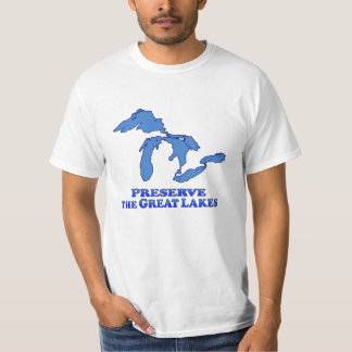 Preserve Great Lakes - Value T-Shirt