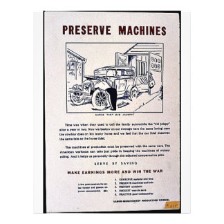 Preserve Machines 21.5 Cm X 28 Cm Flyer