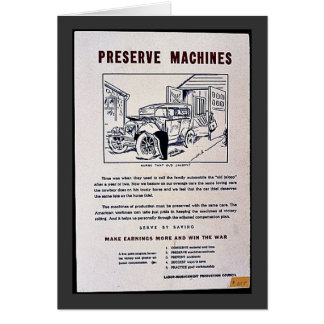 Preserve Machines Card