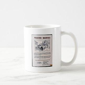 Preserve Machines Classic White Coffee Mug