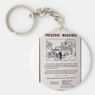 Preserve Machines Key Chains