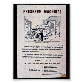Preserve Machines Posters