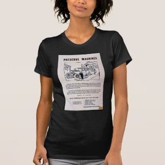 Preserve Machines Tee Shirt