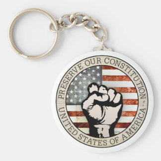 Preserve Our Constitution Key Chain