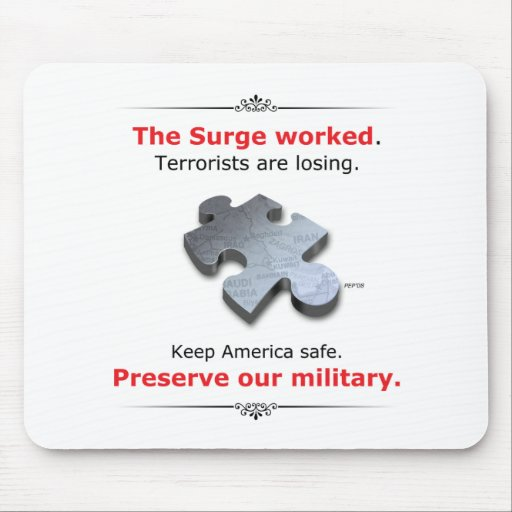 Preserve Our Military Mouse Mat