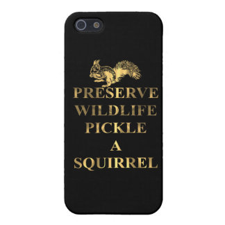 Preserve wildlife pickle a squirrel iPhone 5 covers