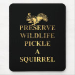 Preserve wildlife pickle a squirrel mouse mats