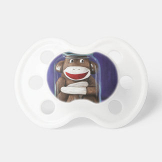 Preserving Childhood with Sock Monkey Baby Pacifier