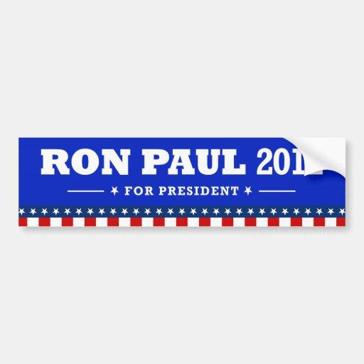 President 2012 - Ron Paul Stickers Bumper Sticker