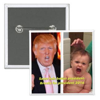 President 2016 button