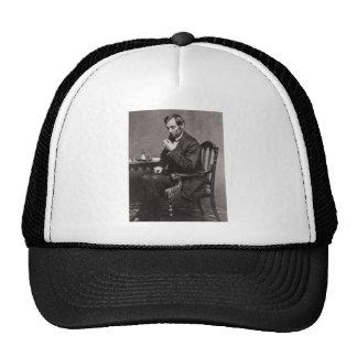 PRESIDENT ABRAHAM LINCOLN 1862 STEREOVIEW CAP