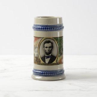 President Abraham Lincoln Civil War Stein Beer Steins