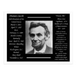 President Abraham Lincoln Postcard