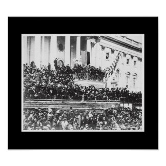 President Abraham Lincoln's 2nd Inaugural Poster
