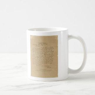 President Abraham Lincoln's Letter to Mrs. Bixby Coffee Mug