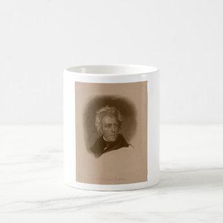 President Andrew Jackson -- American History Basic White Mug