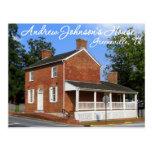 President Andrew Johnson's Home - Greeneville, TN Postcard