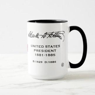 President Arthur, Chester A. Mug