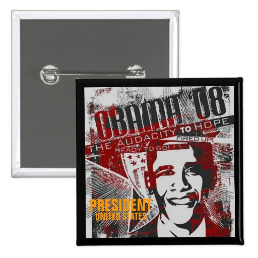 PRESIDENT PINBACK BUTTONS