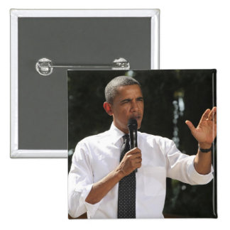 President Barack answers questions about the 15 Cm Square Badge