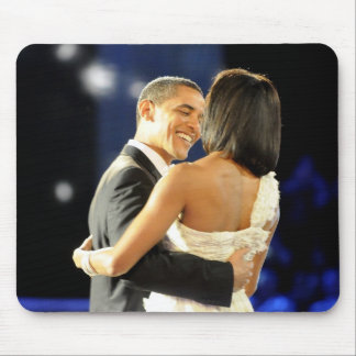 President Barack & Michele Obama Mouse Pad