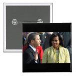 President Barack Obama 2009 Inauguration Pinback Buttons