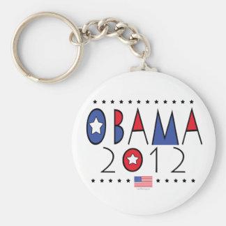 President Barack Obama 2012 Gear Basic Round Button Key Ring