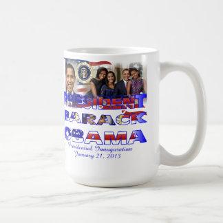 President Barack Obama 2013 Inauguration Mug