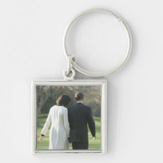President Barack Obama and First Lady Michelle Key Chains