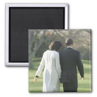 President Barack Obama and First Lady Michelle Magnet