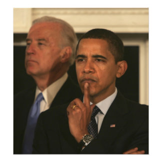 President Barack Obama and Vice President Photographic Print