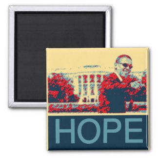 President barack Obama-Black History month2 Square Magnet