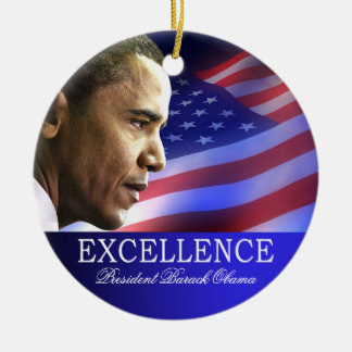 President Barack Obama Christmas Ornament