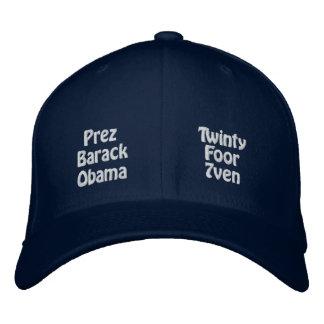President Barack Obama Embroidered Hats
