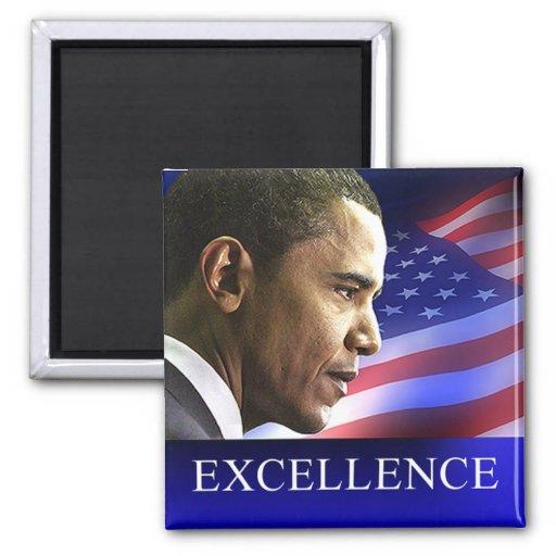 President Barack Obama Excellence Magnet