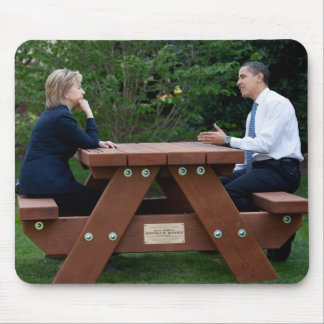 President Barack Obama & Hillary Clinton Mouse Pad