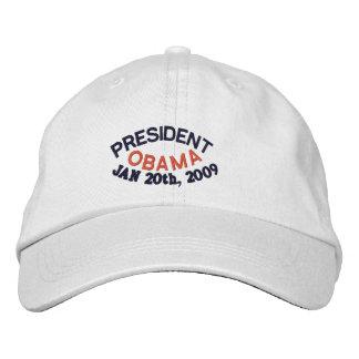 PRESIDENT BARACK OBAMA INAUGURATION EMBROIDERED HATS
