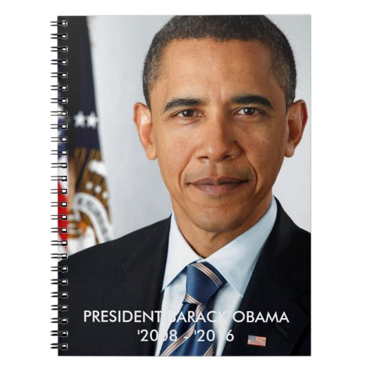 PRESIDENT BARACK OBAMA NOTEBOOK