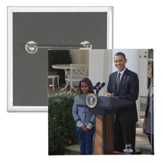 President Barack Obama pardons the 15 Cm Square Badge