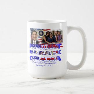President Barack Obama Re-election Coffee Mugs