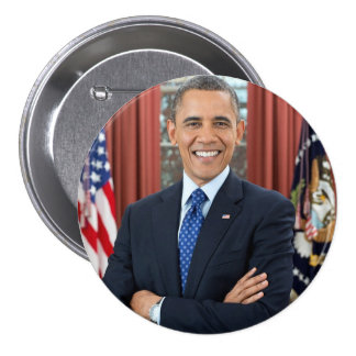 President Barack Obama Support Button