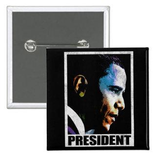 President Barack Obama Vintage Buttons