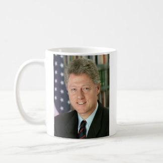 President Bill Clinton Signature Mug