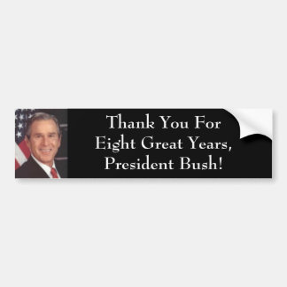 President Bush Bumper Sticker