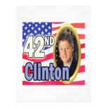 President Clinton Flyer