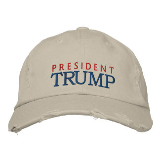 President Donald Trump Embroidered Cap