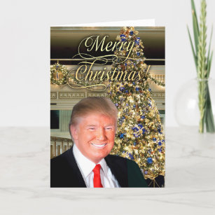 Donald Trump Christmas Cards Zazzle Uk