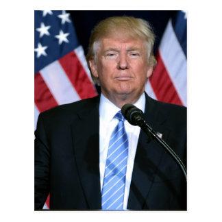President Donald Trump Postcard