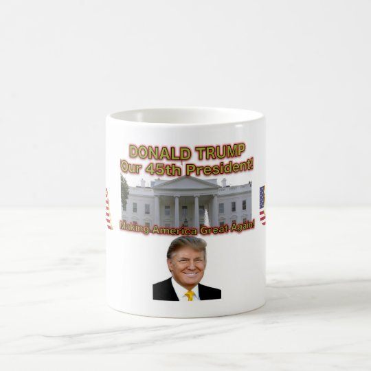 President Donald Trump USA Mug
